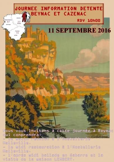 Sortie AFH Limousin - Sept